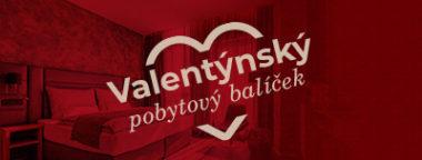 Valentýnský pobytový balíček Olomouc
